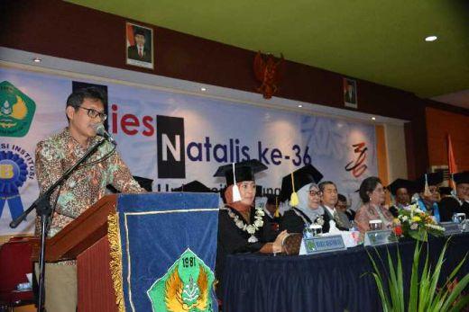 Universitas Bung Hatta Diharapkan Jadi Perguruan Tinggi Internasional