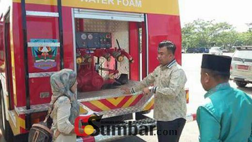 Sering Terjadi Kebakaran, Pemkab Dharmasraya Tambah Armada Mobil Damkar