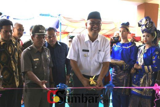 Dihadiri Anggota DPRD Ismet Harius Kantor Lurah Ibuah Diresmikan