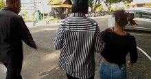 Digerebek Polisi dan TNI, Germo Prostitusi Anak di Bawah Umur di Bukittinggi Terkencing di Celana