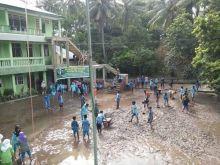 Banjir Rusak Lahan Pertanian dan Sekolah di Paninggahan Kabupaten Solok