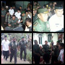 Bukit Barisan Bersinar, Pangdam 1 BB Mayjen TNI Cucu Somantri Resmikan Pemakaian Lampu Lemtera Untuk Warga di Agam