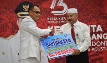 Bank Nagari Kucurkan Rp110 Juta Dana CSR untuk Bantuan Pendidikan Anak-anak Mentawai