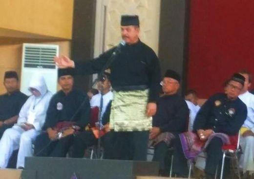 Ketua IPSI Sumbar Fauzi Bahar, Buka Cabor Silat Porprov XIV Sumbar