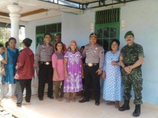 Danramil 06/Koto Tangah Bangun Koordinasi dan Kebersamaan dengen Kapolsek Koto Tangah