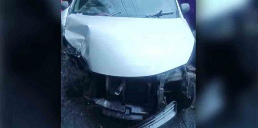 3 Mobil Tabrakan Beruntun di Solok, 9 Orang Luka-luka