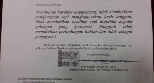 "Hebat, Akhirnya Irvan Khairul ""Melawan"" Kebijakan Gubernur Irwan Prayitno"