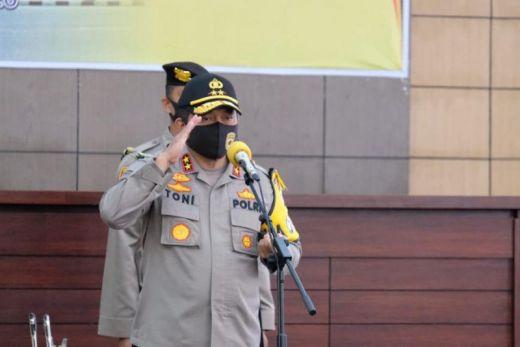 Kapolda Sumatera Barat Tindak Tegas Anggota Berpolitik Praktis