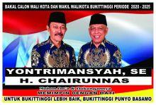 Ikuti Pilkada 2020, Partai Demokrat Usung Pasangan Yontrimansyah - Chairunnas pada Pilwako Bukittinggi