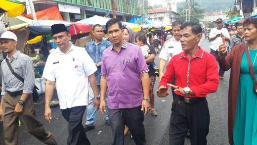 Ketua DPRD Padang, Erisman Apresiasi Penataan Pasar Raya