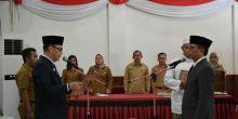 Bupati Lantik Martinus Dahlan sebagai Pj Sekda Mentawai Menggantikan Syaiful Jannah