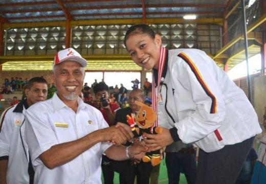 Padang Lewati Target Medali di Cabor Senam Artistik