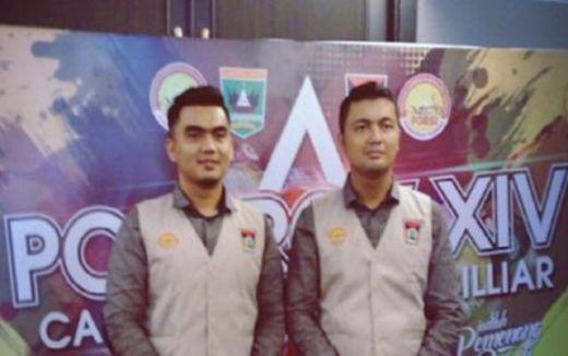 Torik dan Oky Chandra, Torehkan Emas Pertama Kota Padang Cabor Bilyar