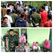 Diantar Puluhan Anggota TNI, Jenazah PNS Korban Pembunuhan di Lubuk Basung Agam Dimakamkan