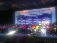 Drawing Final Round Irman Gusman Cup Berlangsung Meriah, Kota Padang Berada di Grup B, Pasaman Satu Grup dengan Pasaman Barat