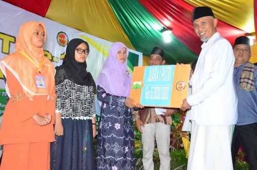 Walikota Padang Tutup MTQ IKKT, Qoriah Padang Terbaik