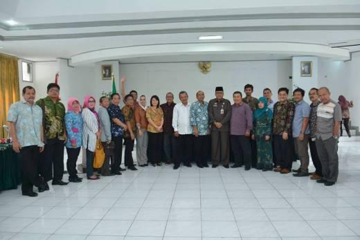 Banggar DPRD Banyumas Studi Banding ke Pemko Padang Panjang