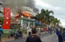 Terbakar, Asrama MTI Kapau Agam Ini Ludes Dilalap Kobaran Api