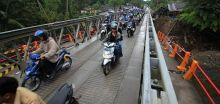 Jembatan Kedua Sedang Dibangun untuk Urai Macet di Kayu Tanam