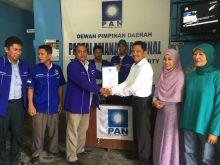 Didesak Ribuan Warga,Rahmad MTR Mendaftar ke DPD PAN