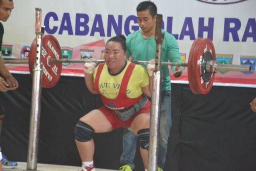 Porprov XIV Sumbar, Padang Dulang Sembilan Emas di Olahraga Organisasi PABBSI