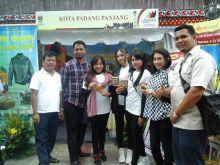 Abrofood Ramaikan Stand Padang Panjang pada Sumbar Expo di Bandung