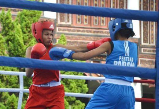 Porprov XIV Sumbar, Wushu Padang Raih Medali, Tinju Melaju ke Final