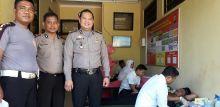 HUT Bhayangkara Ke-73, Polsek Pasaman Gelar Donor Darah