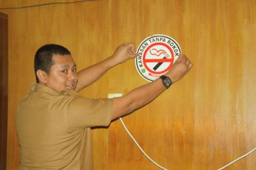 Pemko Padang Panjang Aktif Sosialisasikan Kawasan Tanpa Rokok