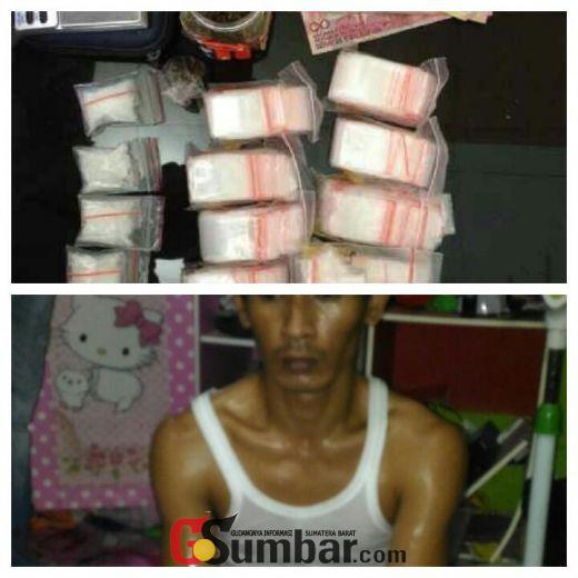 Lagi, Polresta Padang Bekuk Seorang Pengedar Narkoba di Koto Tangah Padang