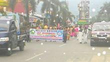 Pawai Taruf Hiasi Khatam Quran SDN 05 Kampung Jawa Solok