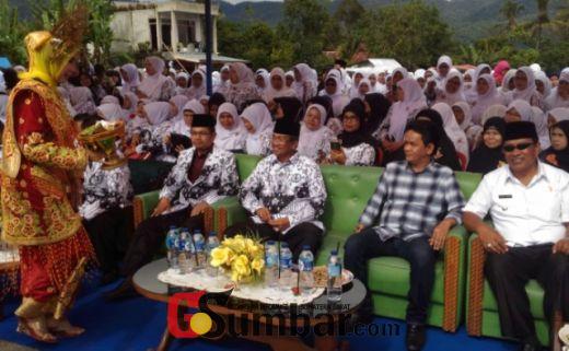 Istimewanya Peringatan Hari Guru di Kabupaten Solok