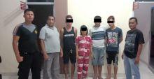 Curi Sapi, 3 Pria dan 1 Wanita Ditangkap Aparat Polres Sijunjung