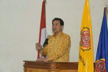 Aziz Syamsudin Ingatkan Karang Taruna untuk Sinergi dan Setia Ideologi Pancasila