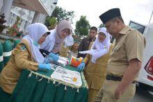 Lakukan Tes Urine, Pejabat Pemerintah Kota Padang Panjang Bebas Narkoba