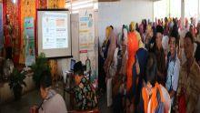 DPR RI dan Balai Pom Padang Sosialiasikan Makanan Sehat di Dharmasraya