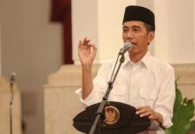 Batal ke Sumbar, Ternyata Jokowi Salat Idul Adha di Banjarmasin