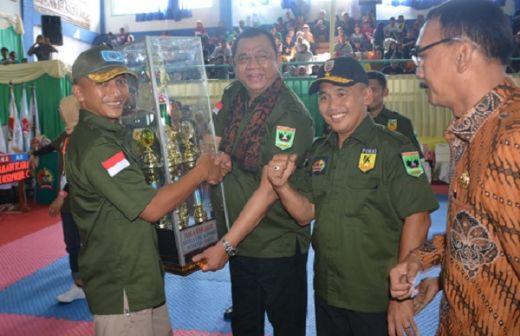 1.200 Karateka se-Sumatera Ikuti Kejuaraan Karate Danrem Cup 2018 di Painan