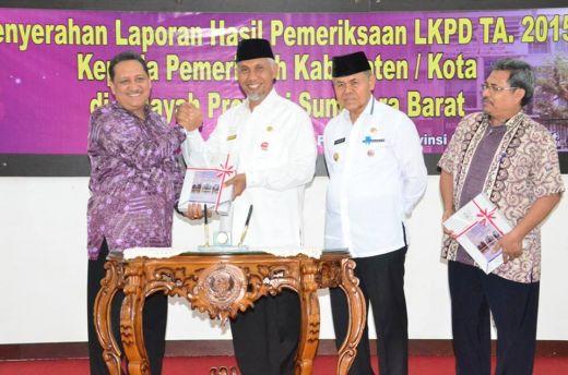 Hasil Pemerikasaan BPK, Pemko Padang Pertahankan Opini WTP