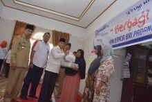 Bank BRI Kanca Padang Panjang Salurkan Bantuan Sembako