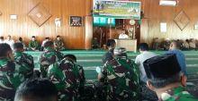 Kodim 0310/SSD Gelar Halal Bihalal, Hadirkan Walikota Padang Sebagai Penceramah