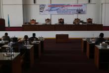 Bahas Perubahan APBD, DPRD Dharmasraya Rapat Paripurna Hingga Hari Minggu