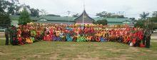 Ratusan Pelajar SMA Sederajat di Bukittinggi dan Agam Berlomba dalam Komsos Kreatif yang Digelar Kodim 0304/Agam