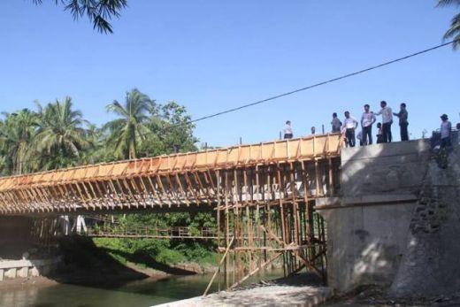 Jembatan Kampuang Galapuang Ulakan Tapakis Tuntas, Segera Diresmikan, Warga Senang