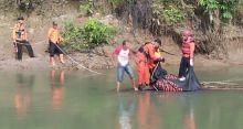 Tiga Hari Menghilang, Kakek 85 Tahun Ditemukan Tak Bernyawa di Dasar Sungai Batang Antokan