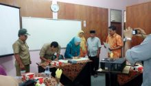 Pakan Sinayan Kelurahan Pertama Jalin Kerjasama Dengan STTP