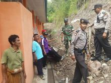 Saniang Baka Kabupaten Solok Diterjang Longsor, SMAN 2 Singkarak Rusak Berat
