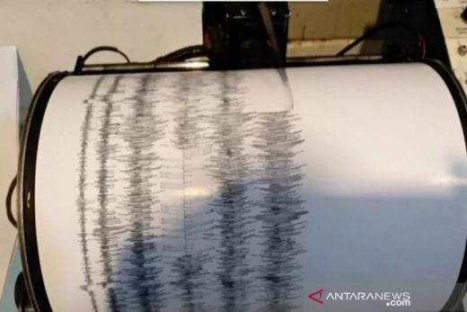 Gempa Bumi Tektonik Magnitudo 4,5 Guncang Padang Panjang
