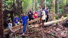 Dua Pelaku Illegal Logging Ditangkap di Hutan Cagar Alam Maninjau