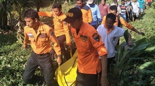 Hanyut di Sungai Salido Ketek, Petani Ditemukan Tak Bernyawa